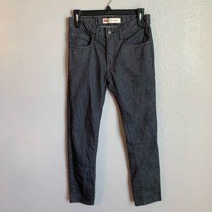 Levi's Gray Boys 510 Skinny Jeans 16reg